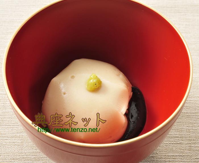 満月胡麻豆腐