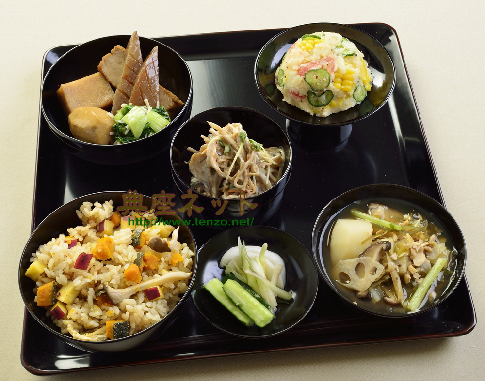 平成26年秋彼岸のお供え精進料理膳