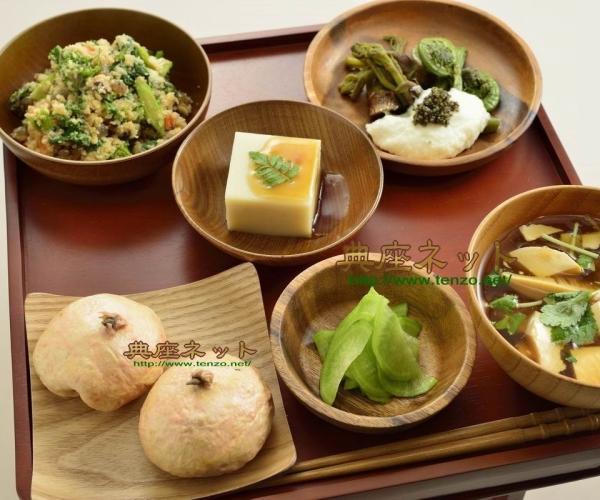 平成283年春彼岸のお供え精進料理膳