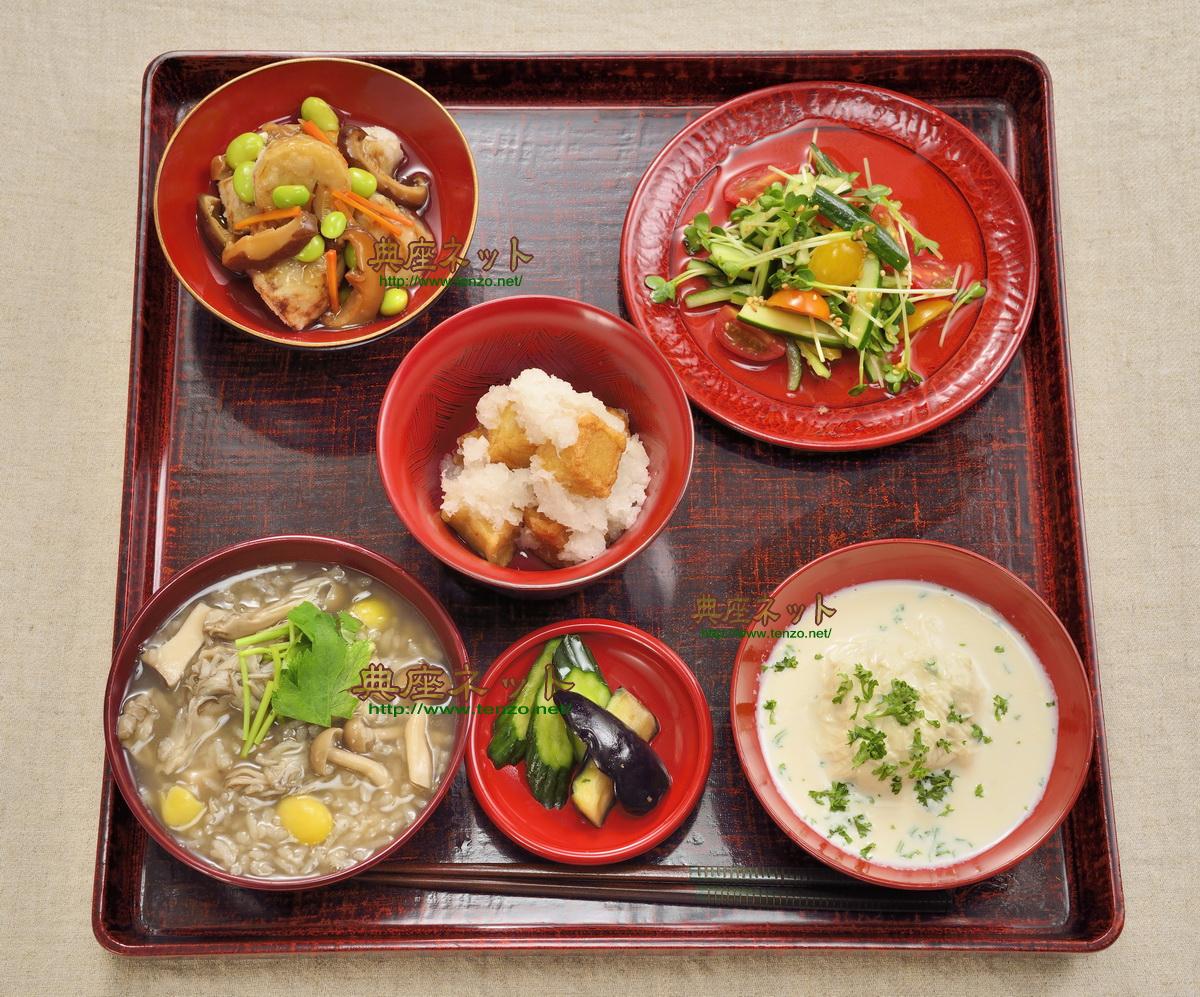 平成29年秋彼岸のお供え精進料理膳