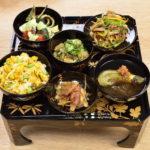 令和元年八月盆のお供え精進料理膳
