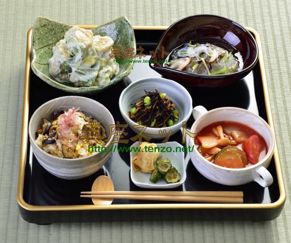 平成27年お盆のお供え精進料理膳