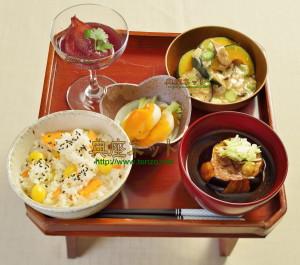 平成27年 秋彼岸のお供え精進料理膳