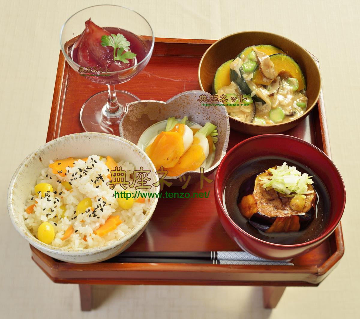 平成27年秋彼岸のお供え精進料理膳