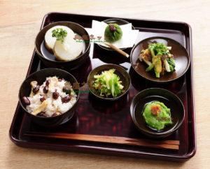 平成29年春彼岸のお供え精進料理膳