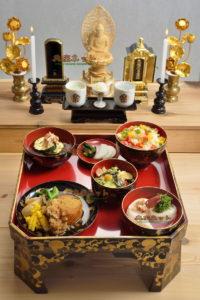 平成29年お盆のお供え精進料理膳